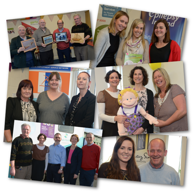 Image of photo collage from Westside Resource Centre open day 2014